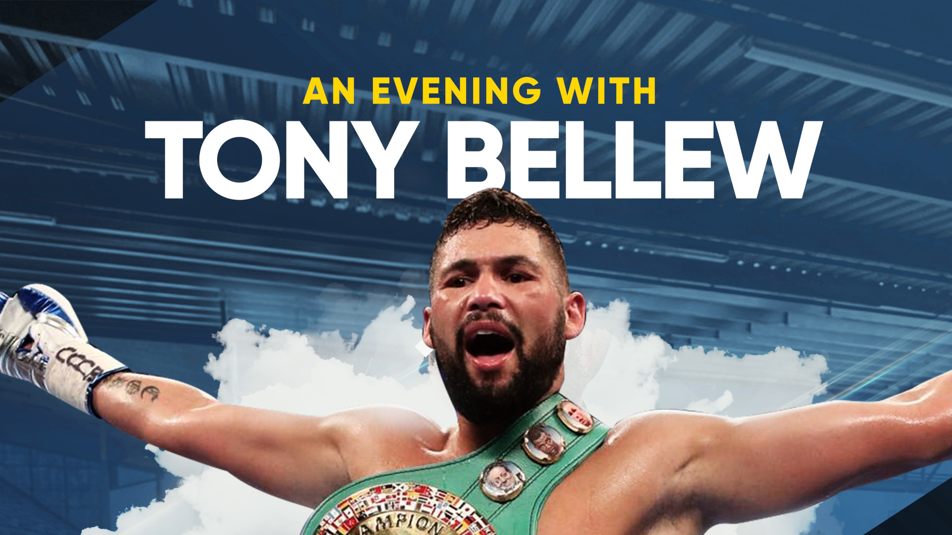 Tony 'The Bomber' Bellew to share boxing tales at Parr Hall