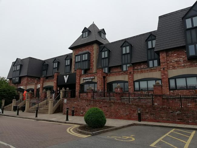 Three men were arrested at the Village Hotel over their alleged involvement in serious and organised crime.
