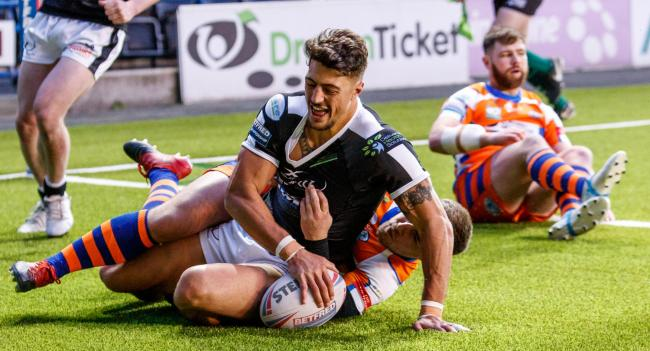 Widnes Vikings' former Wigan Warriors centre Anthony Gelling. Picture: Richard Walker