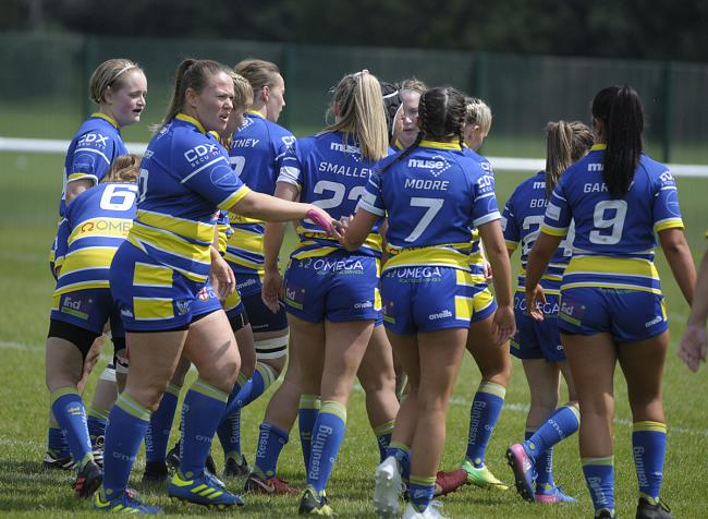The Wire Women take on Huddersfield Giants this afternoon. Picture by Mike Boden