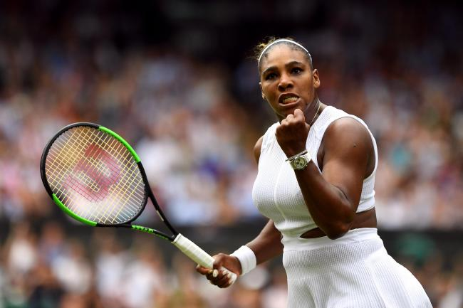 Serena Williams is in her 12th semi-final at Wimbledon