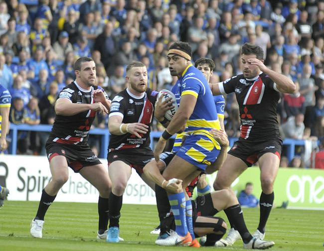 The Wire have lost twice at home to Salford Red Devils this year. Picture by Mike Boden