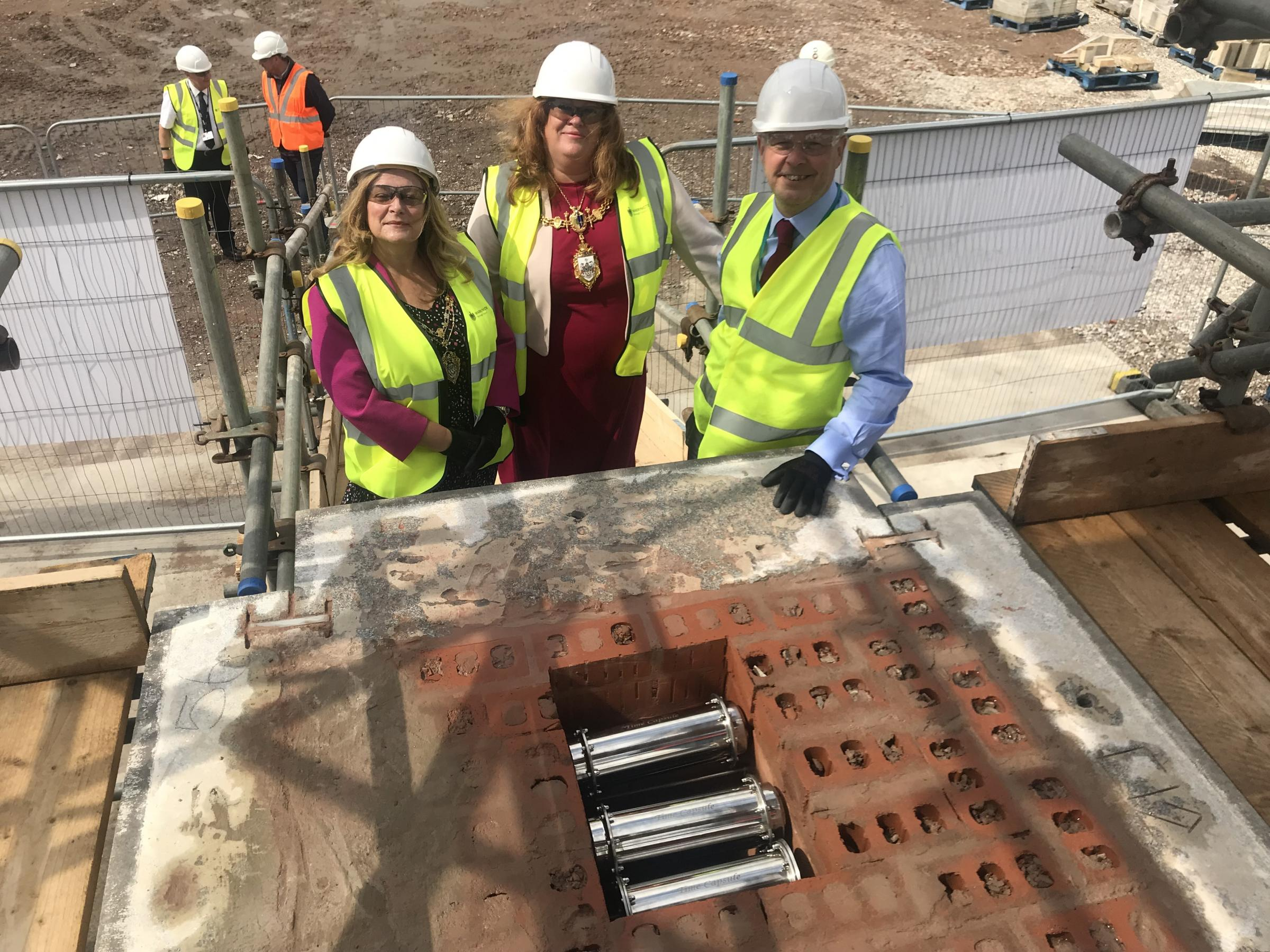 Time capsules buried by primary schools to preserve Warrington's history