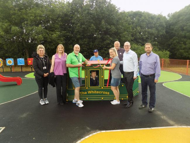 Whitecross Park play area has had a fantastic makeover, thanks to a £90,000 investment.