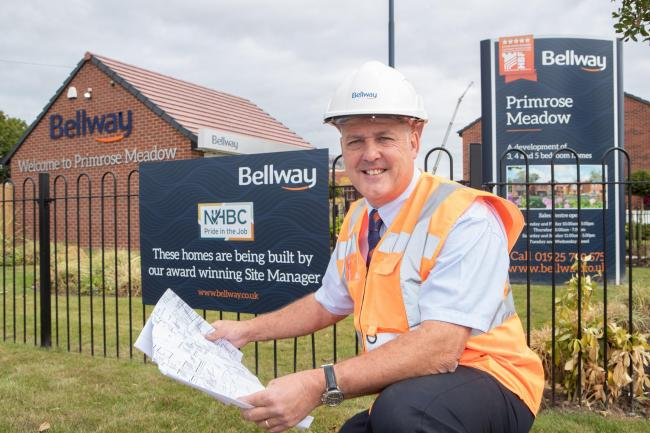 Paul McKeever, Pride in the Job award winning site manager at Primrose Meadow