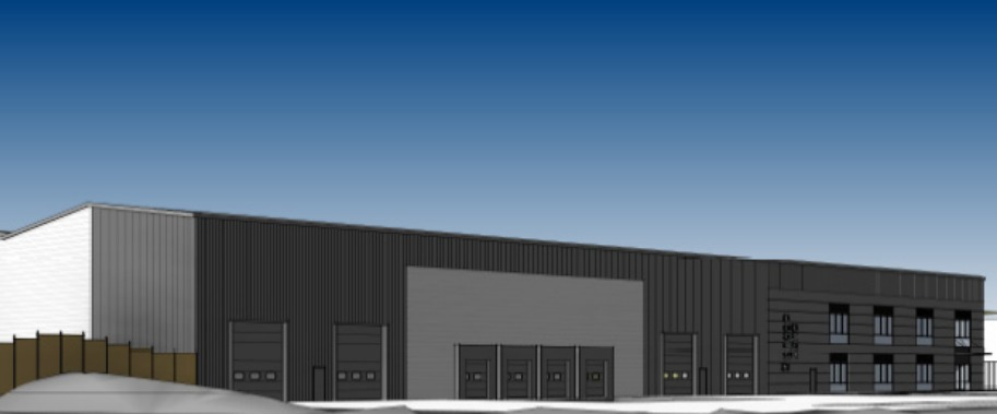 Plans in for new warehouse on trading estate
