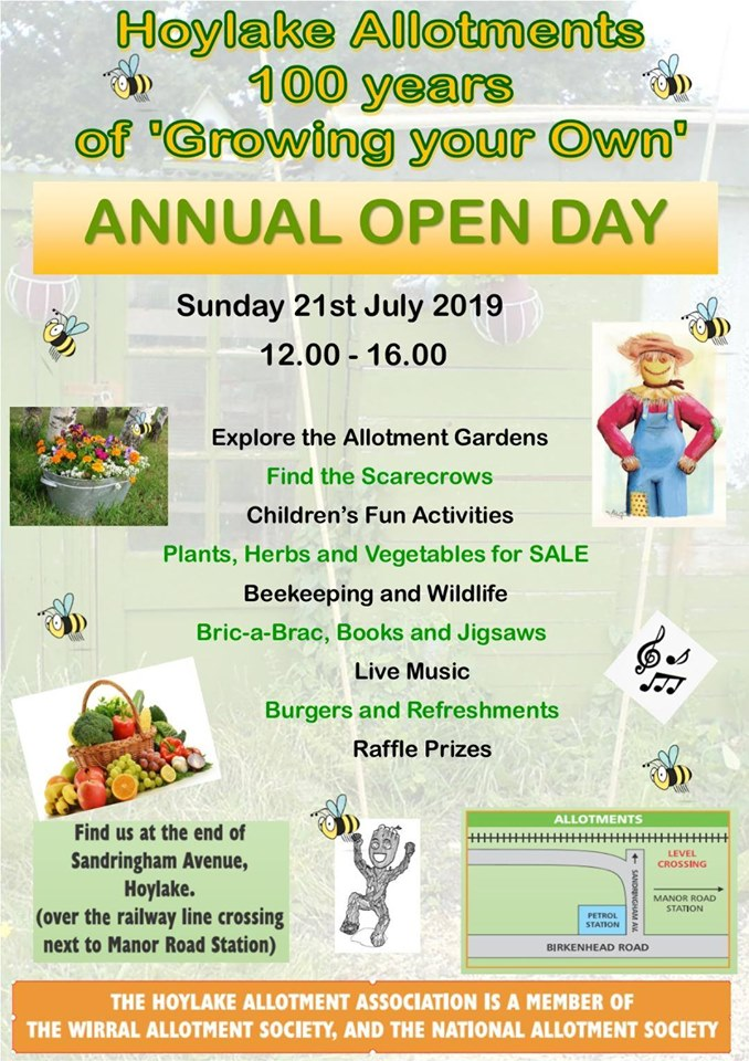 Hoylake Allotment Open Day