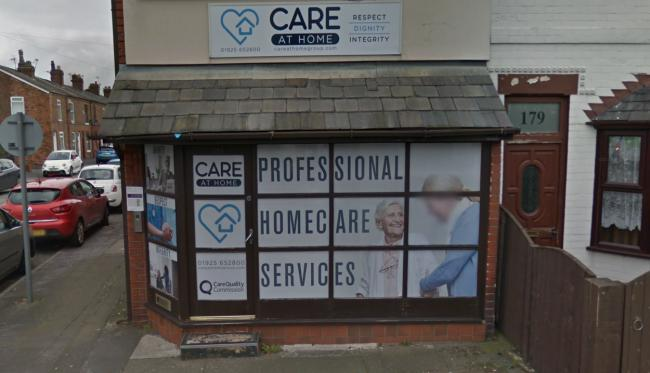 Care at Home's Padgate Lane base. Picture by Google Maps.
