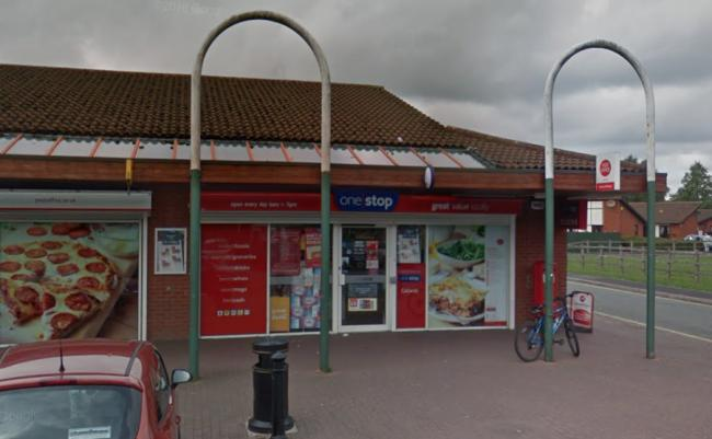 The teenager was robbed by two offenders near to the One Stop on Callands Road. Picture by Google Maps.