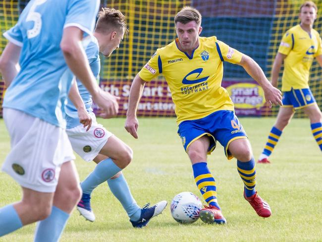 Steve Jennings has become Warrington Town's latest signing. Picture by John Hopkins