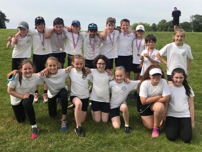 St Monica's mixed cricket team, who have completed an unbeaten season