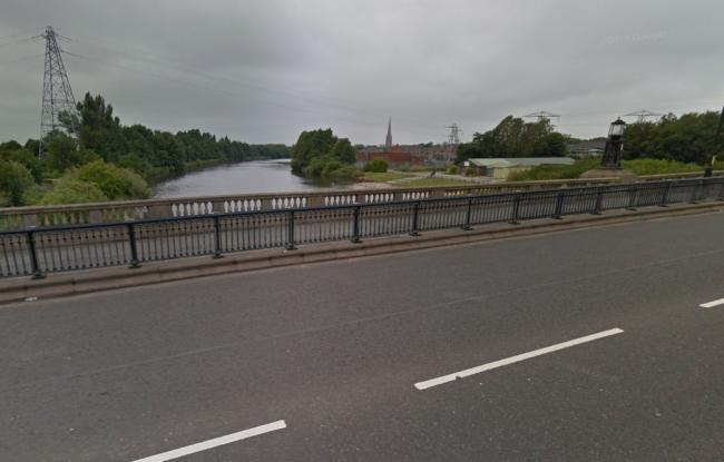Girl hit in head with brick near to Warrington Rowing Club
