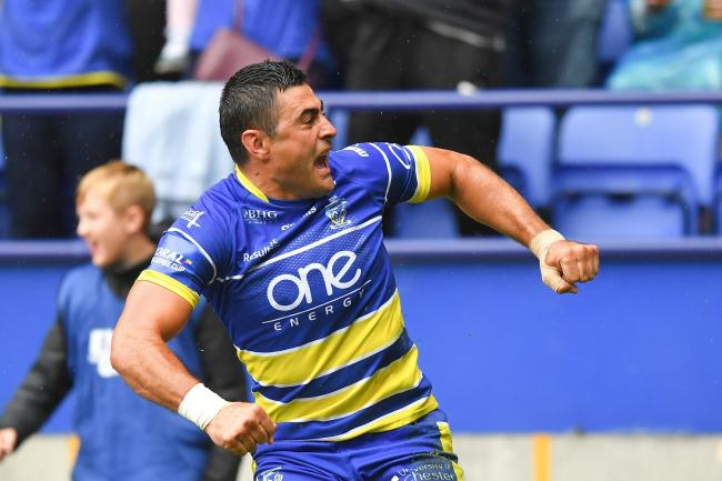Christmas giveaway day 6 - Warrington Wolves tickets