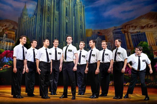 The Book of Mormon is on at the Palace Theatre in Manchester until August 24