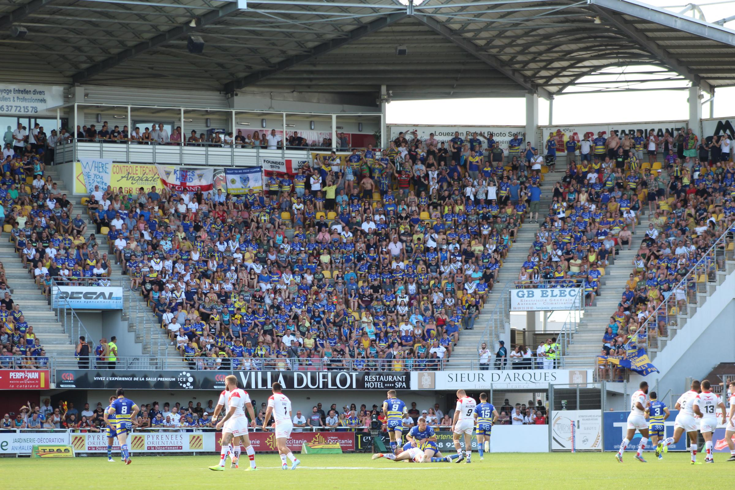 The Wire have not played in Perpignan since August 2019.