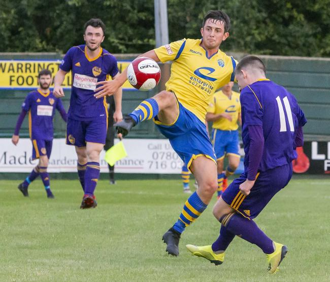 Warrington Town start the new league season today. Picture by John Hopkins