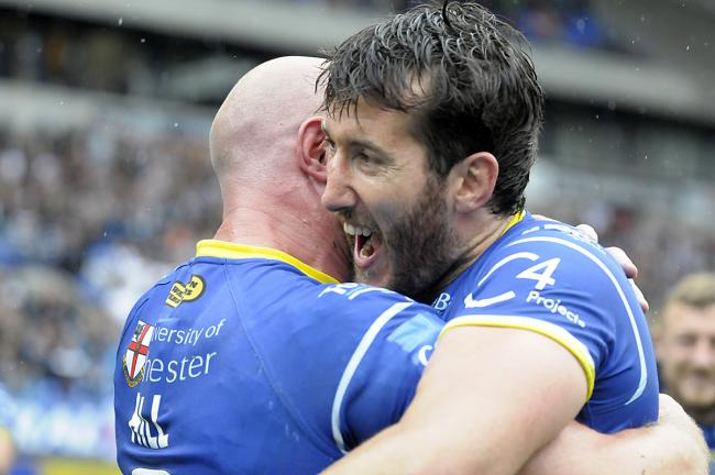 Smiling again as Stefan Ratchford returns from injury to help The Wire book their place at Wembley. Picture: Mike Boden