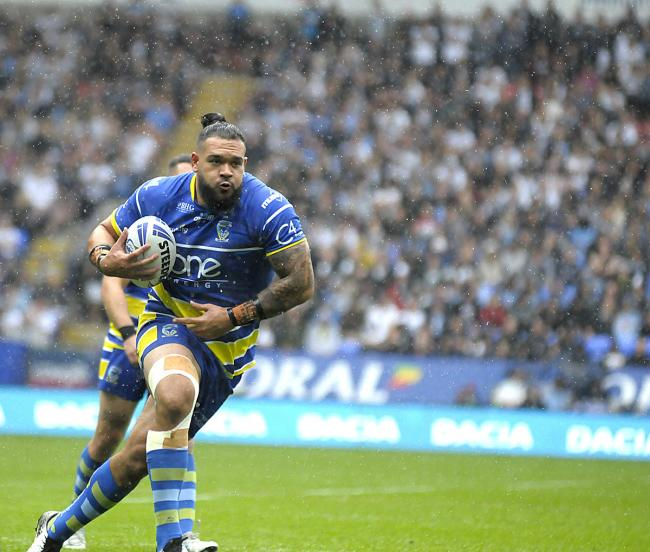 Ben Murdoch-Masila, Warrington Wolves. Picture: Mike Boden
