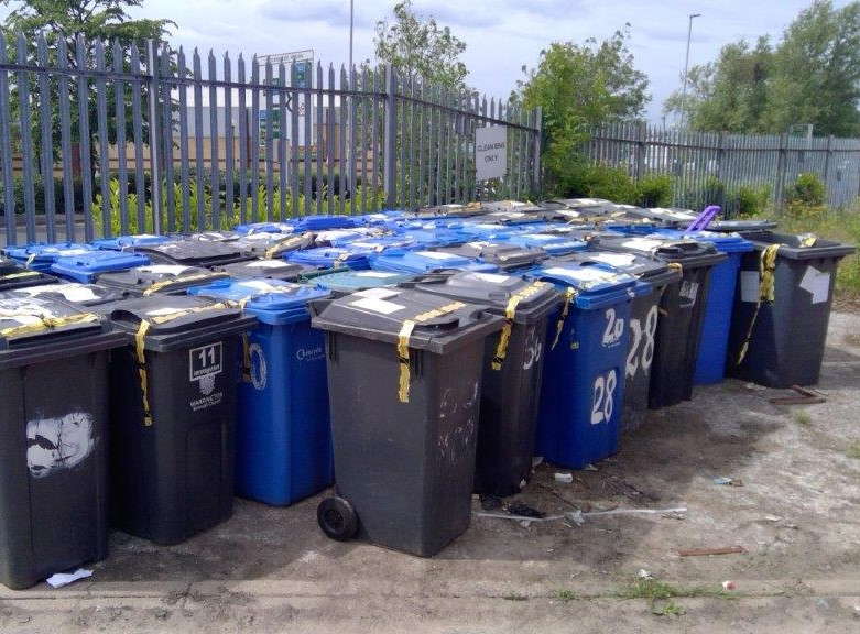 Council's new scheme to remove abandoned bins from streets