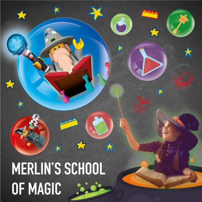 Win a trip to Merlin's School of Magic at Legoland Discovery Centre
