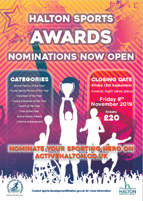 Halton Sports Awards Evening 2019