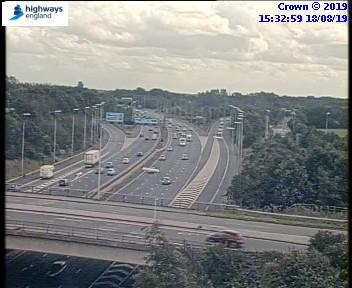 Delays on M6 after accident