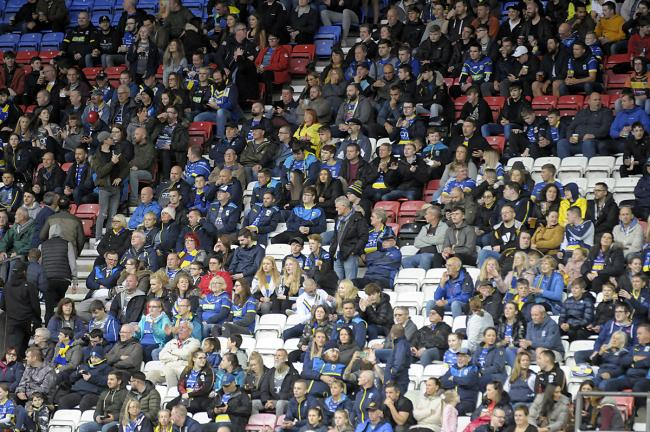 Face in the Crowd pictures from the Wigan game. Pictures from Mike Boden