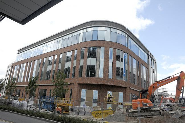 The new council offices development is taking shape
