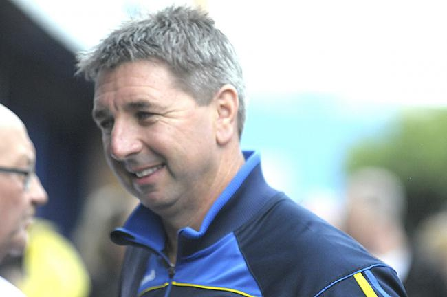 2020 will be Steve Price's third season in charge of Warrington Wolves. Picture by Mike Boden