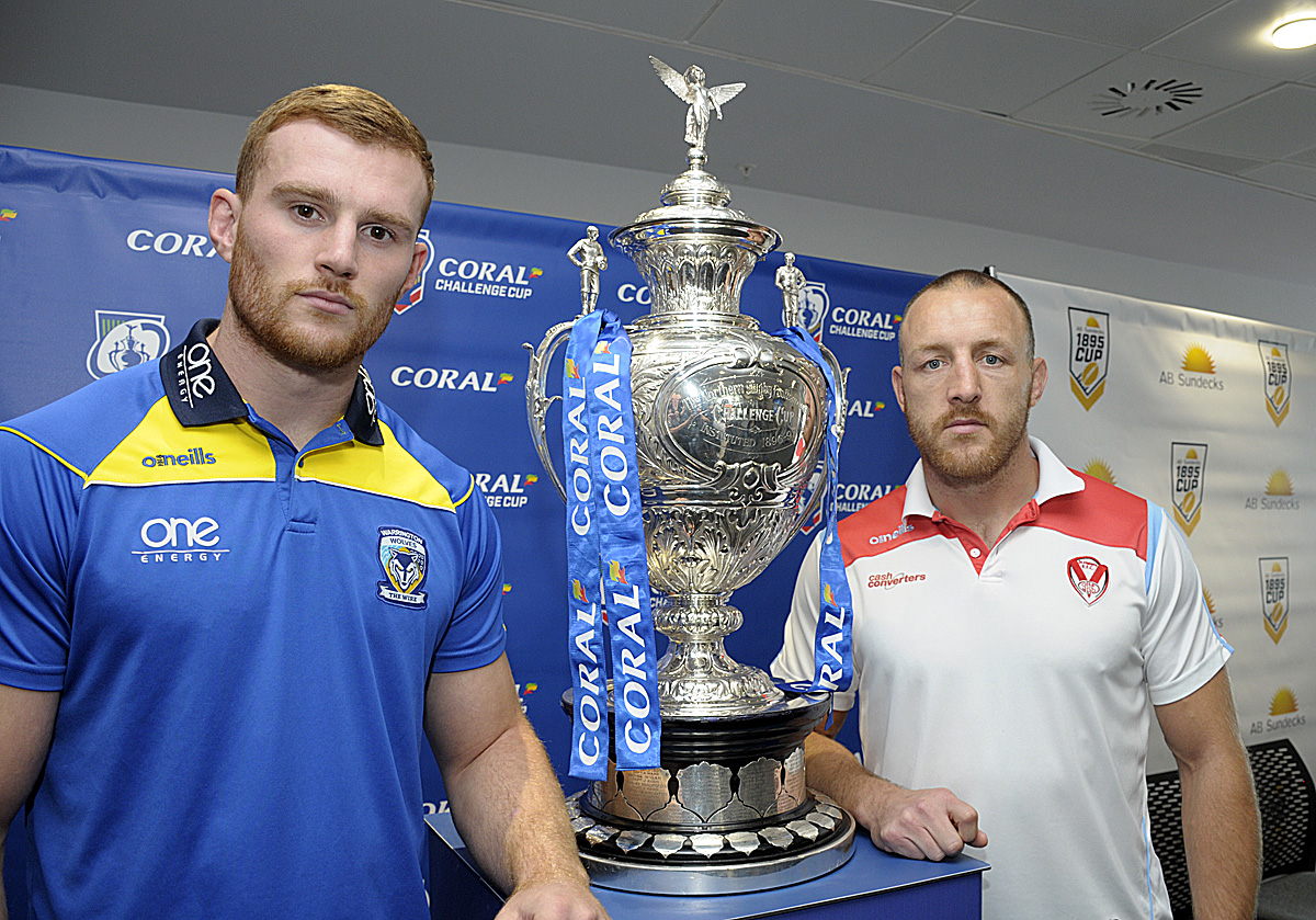 Warrington Wolves vs St Helens Challenge Cup Final live