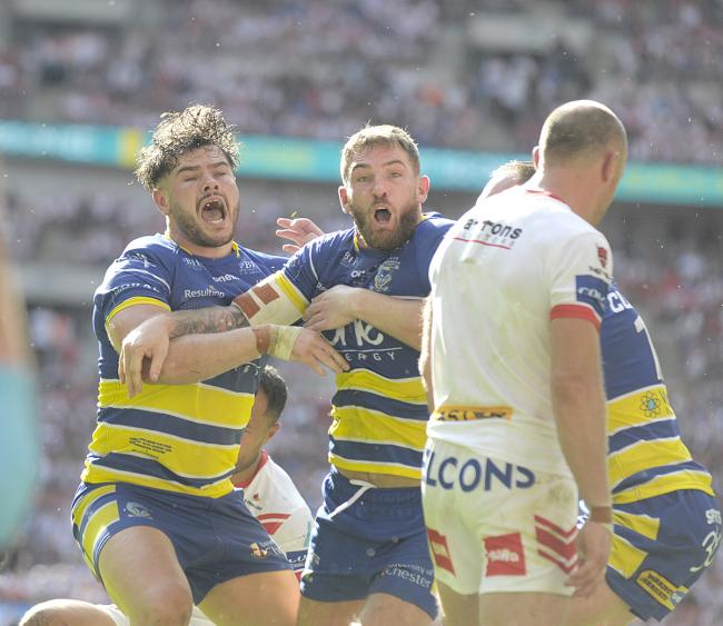 Who was your Wire man of the match in the Challenge Cup Final?