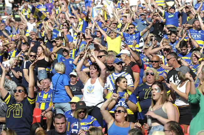 LETTER: 'Congratulations to Warrington Wolves fans for classy gesture'
