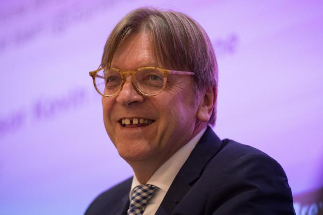 European Parliament Brexit co-ordinator Guy Verhofstadt