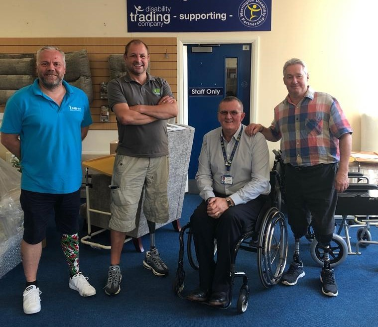Amputee support group set up in Warrington
