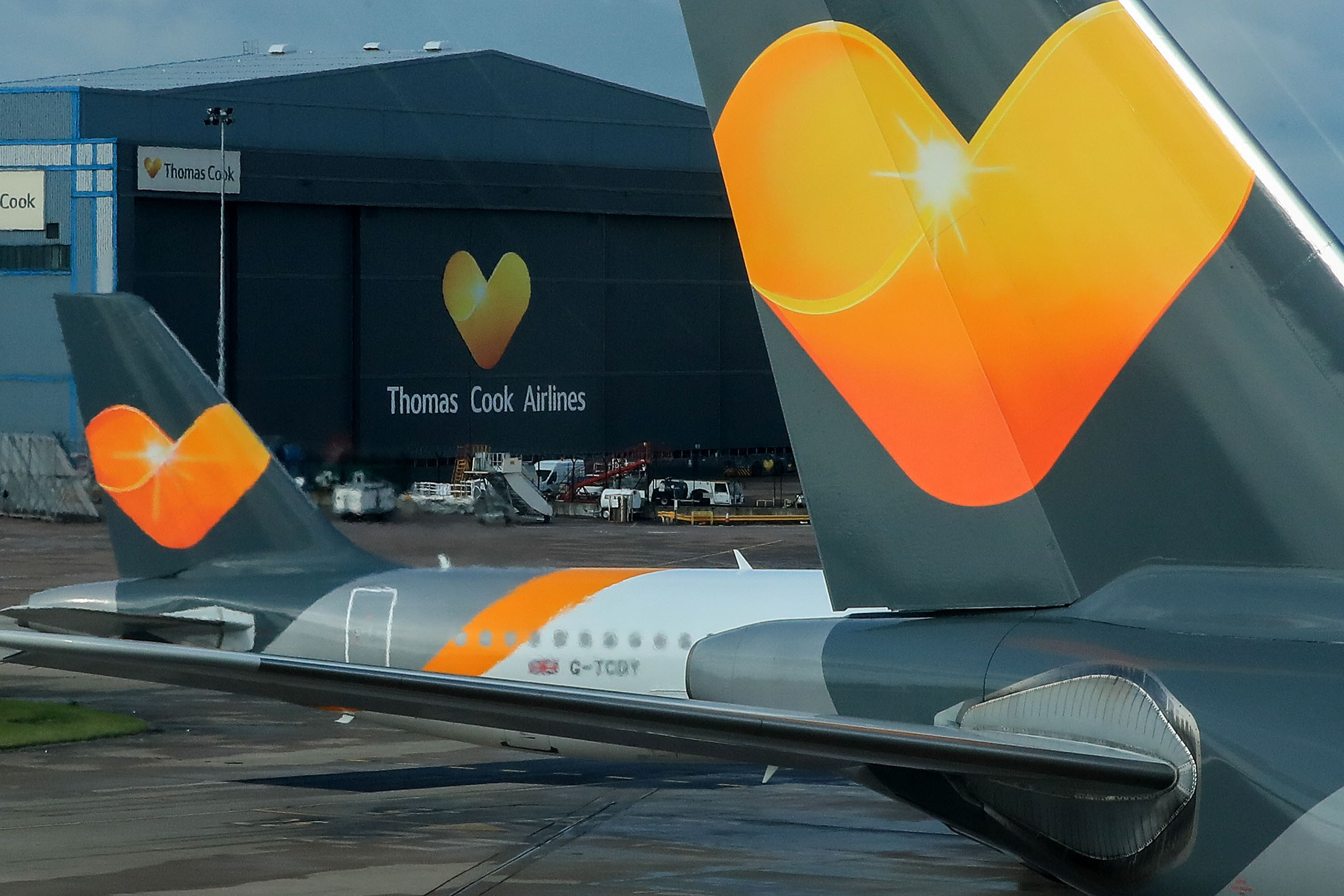 Image result for thomas cook airlines manchester airport