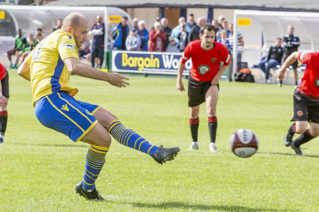 Matty Chadwick was the difference-maker for Town. Picture by John Hopkins