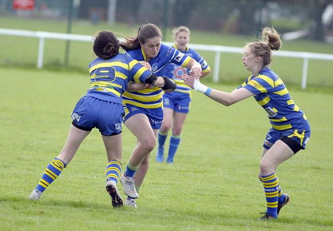 Warrington Wolves Women play their final regular season game on Sunday. Picture by Mike Boden