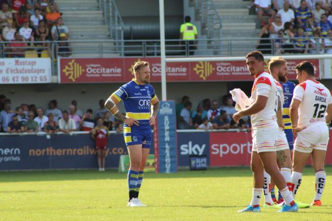 Blake Austin has not played since the defeat to Catalans Dragons last month