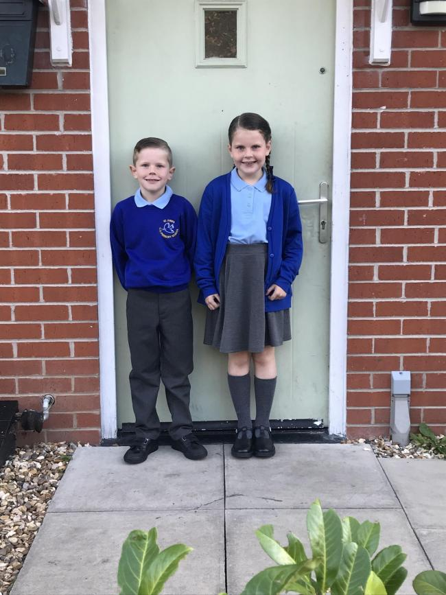 First day in year 3 and year 4