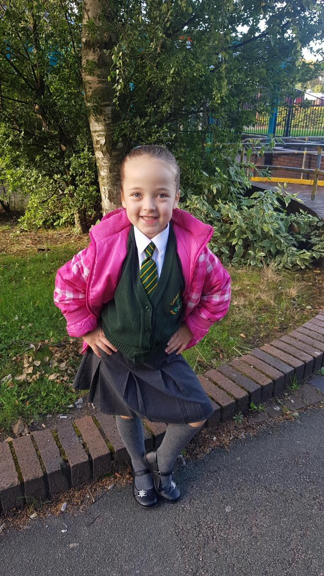 Isabelle ivy-ann emery.  Starting year 2 .  At Oakwood avenue primary school.