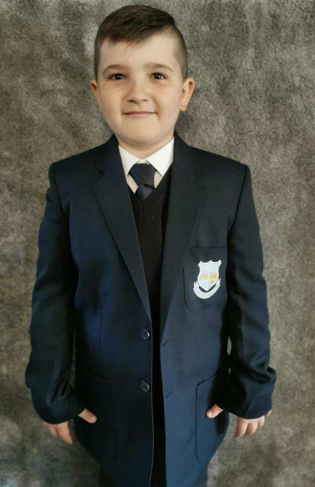 Bobby Hatton year 7 Birchwood Community High School