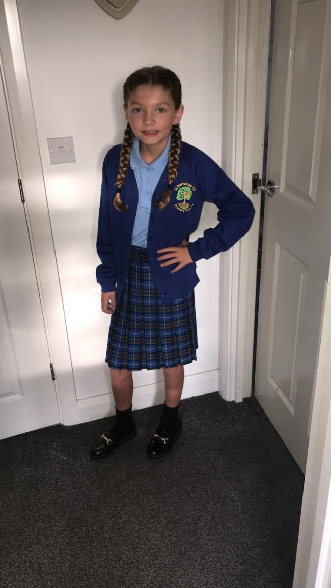 Rosie-may Sutcliffe  St barnabas primary school  Year 6 last year of juniors