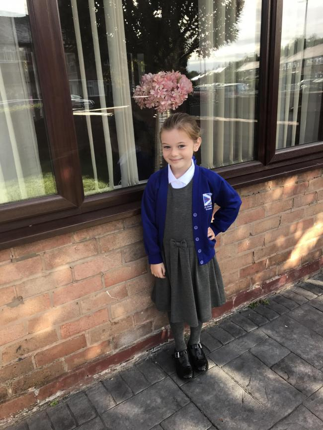 Ruby charnock going into yr2 at St. Andrews school