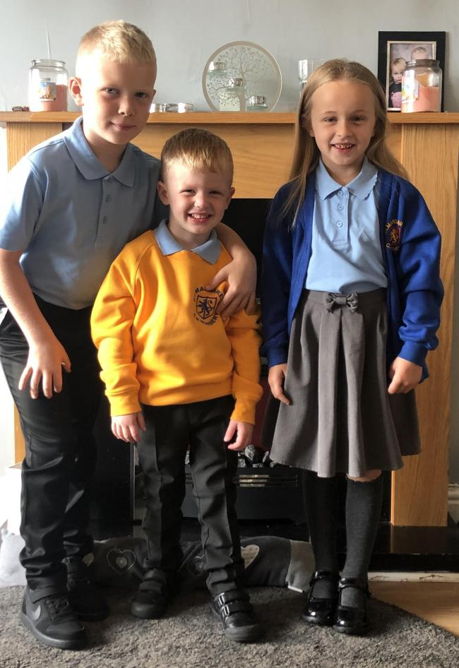 Harrison Spencer (Age 8) Starting Year 4  Millie-Mai Spencer (Age 7) Starting Year 3  Jacob Spencer (Age 3) Starting Nursery)  St.Margarets Primary school Orford