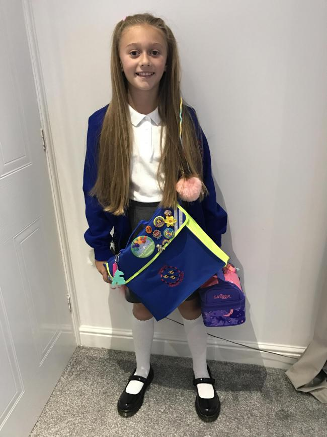 1st Day - Year 5 - Penketh Primary - Poppy Russell