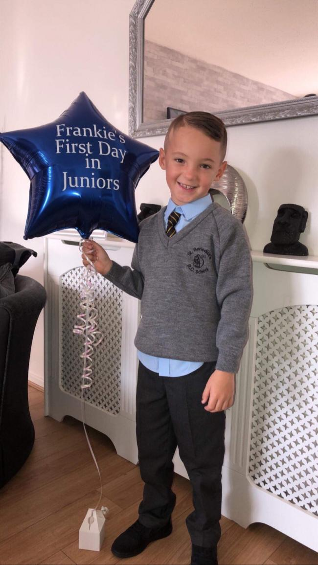 Frankie otoole age 7 st Benedicts catholic primary