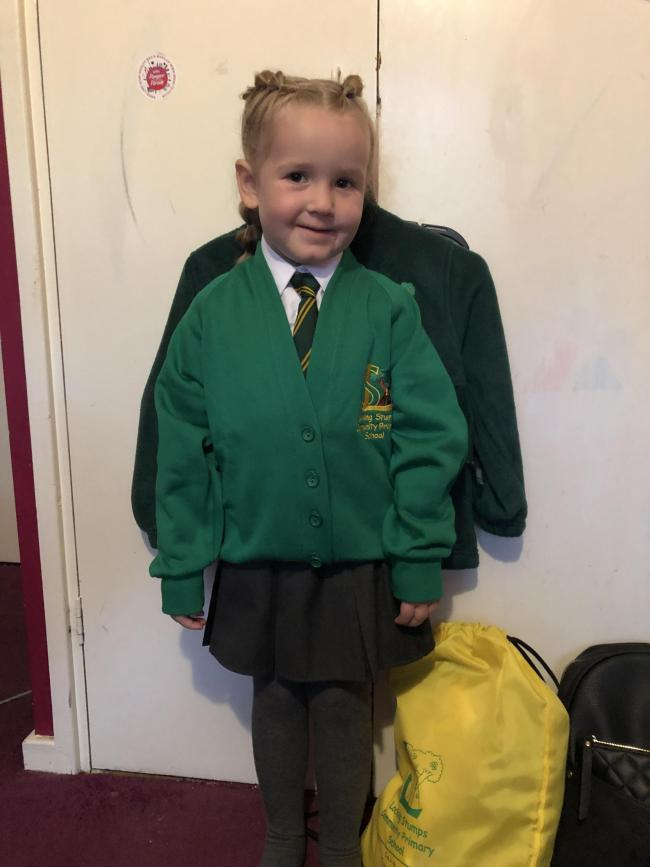 First day of reception for Isla