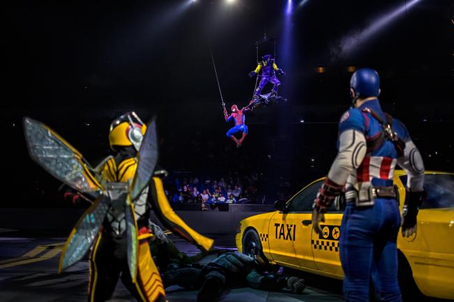 WIN: Family ticket for Marvel Universe Live at Manchester Arena