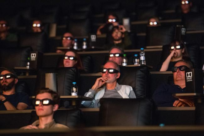Guests at Odeon Trafford Centre during the Dolby Cinema masterclass