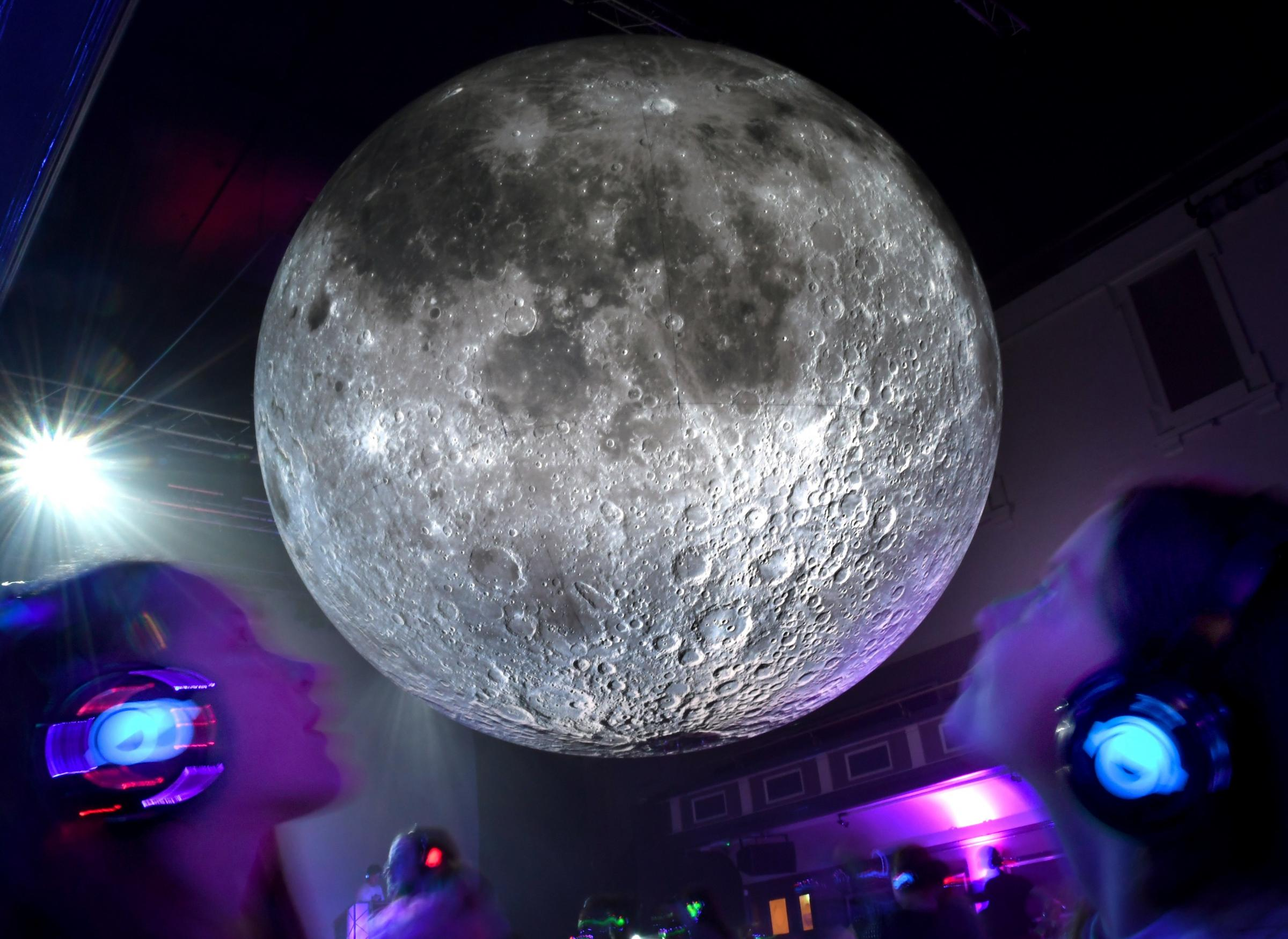 How to see the Museum of the Moon before it leaves Parr Hall